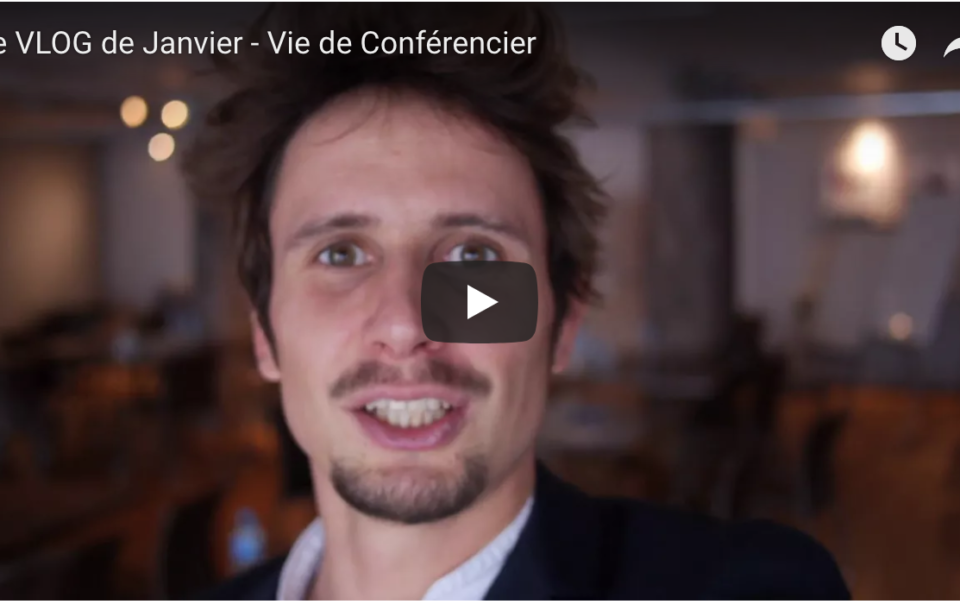 vlog, conference, conférencier